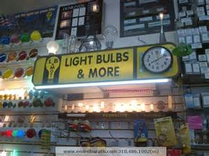 light bulbs and more